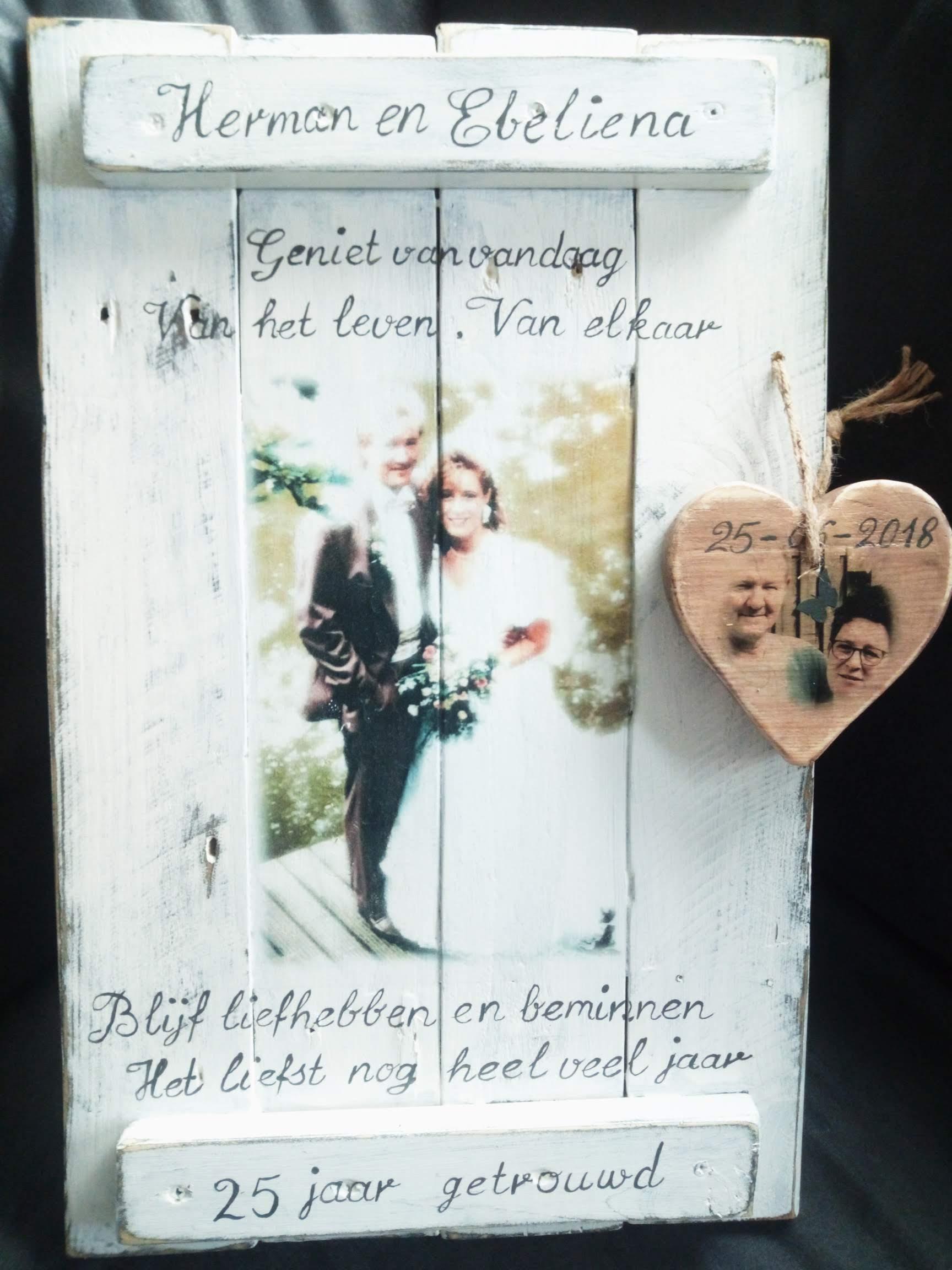 Memories Huwelijk 25 Jaar Karin S Deco Atelier