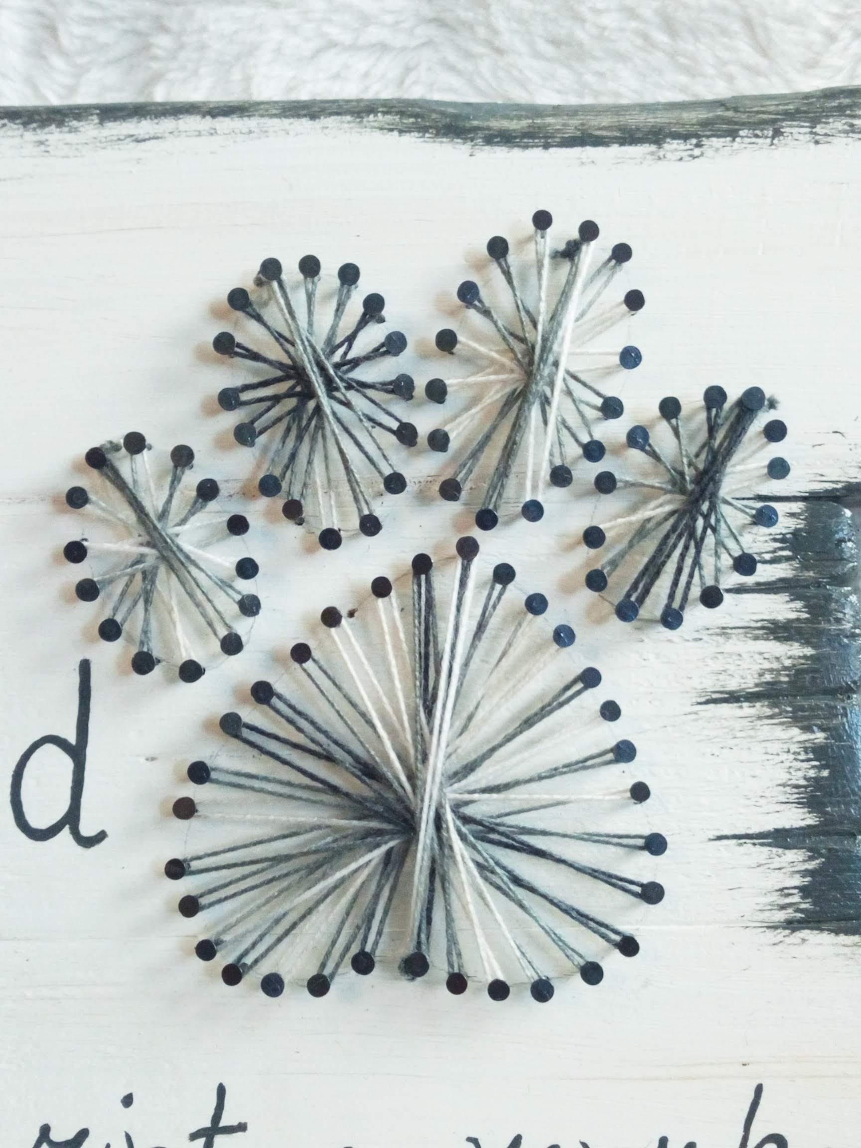 Memories: A true friend leaves pawprints string-art