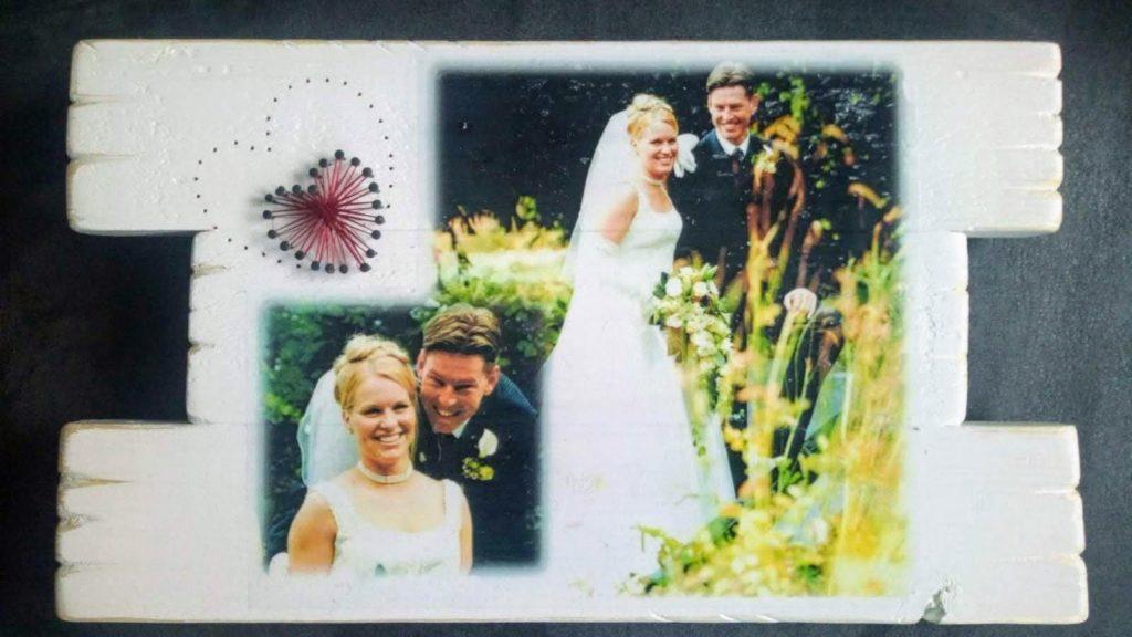 Memories:<br>Huwelijk met string-art